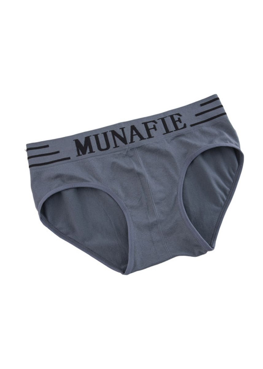 Grey color Innerwear . Seamless Breathable Briefs -