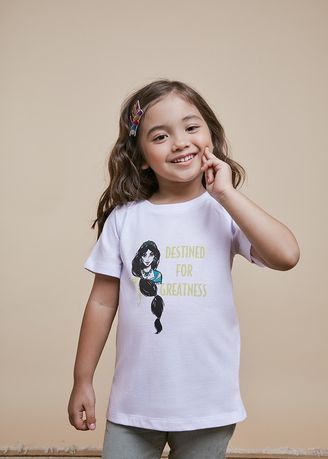 White color Tops . Official Sweet Jasmine White T-Shirt -