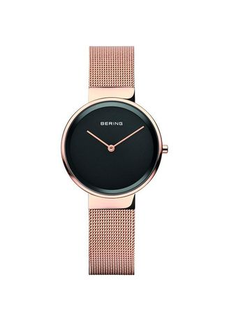 Gold color Analog . Bering Classic Rose Gold  31mm Women's Watch -