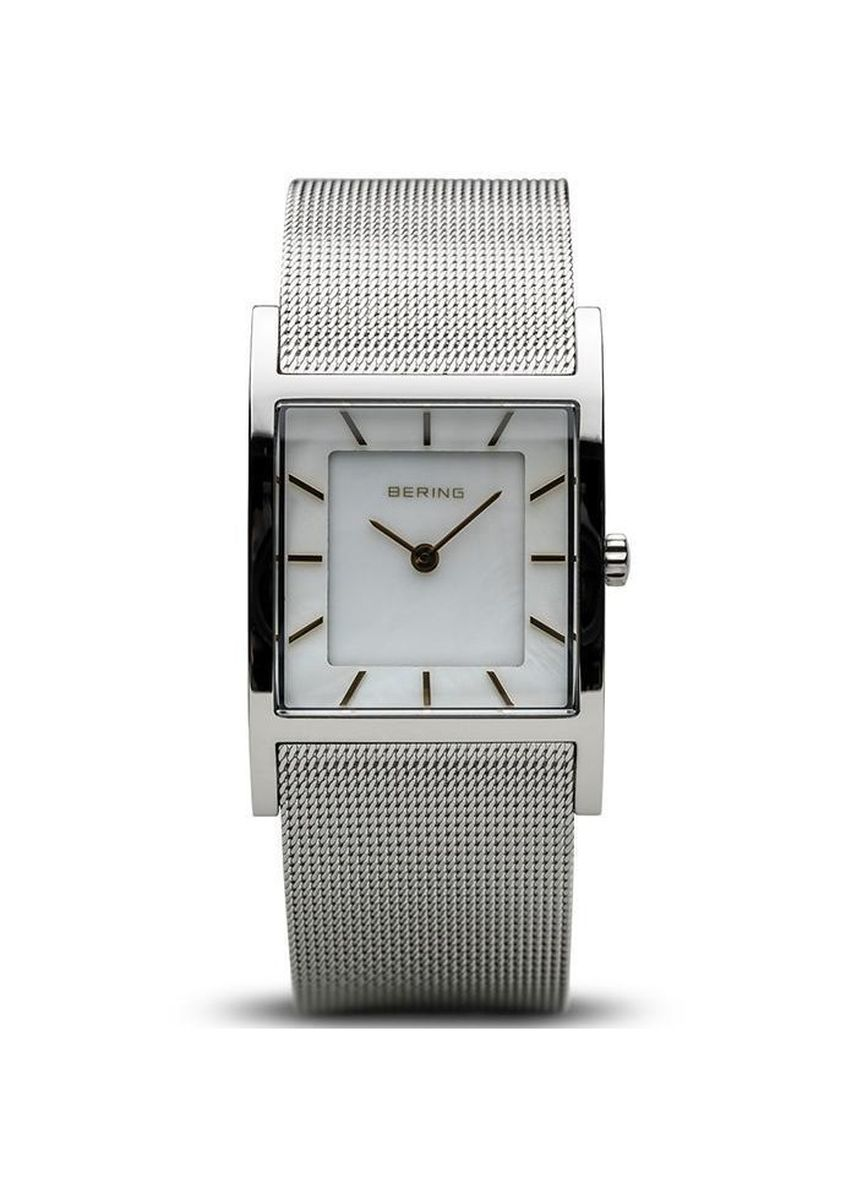 Silver color Analog . Bering Classic 26 mm Women's Watch -