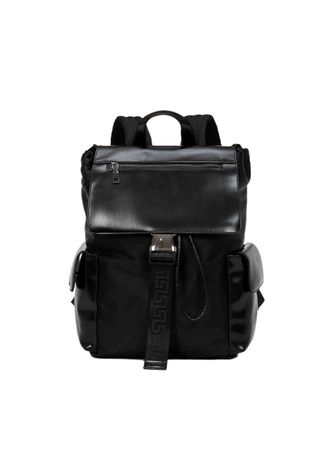Black color Duffle Bags . Men's Large-capacity Fashion Backpack -