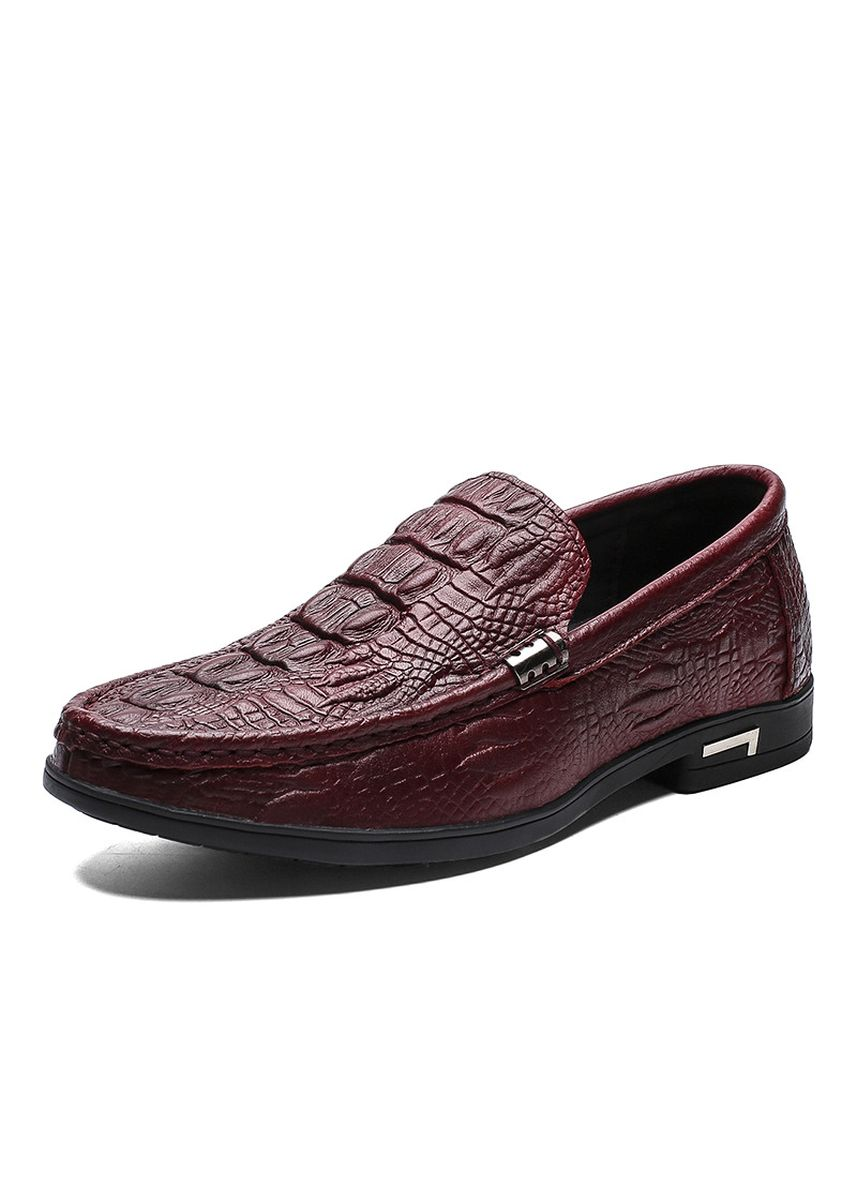 Red color Casual Shoes . Peas Lazy Shoes Summer Casual Trend Men -