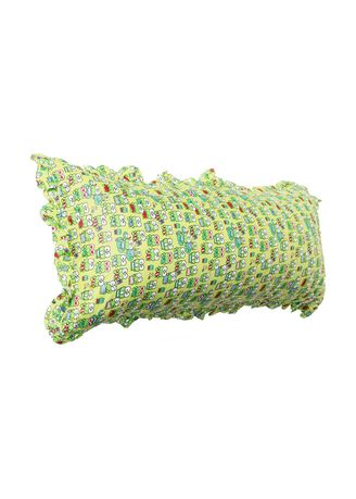 Green color Bedroom . Bantal Cinta Premiun Silikon ( Grade A ) - Keropi Hijau 100x50cm -