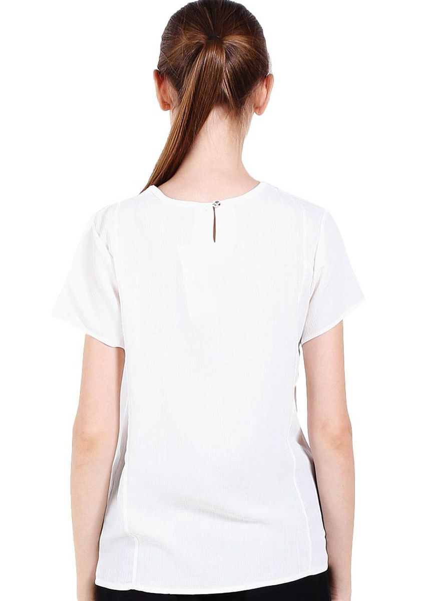 White color Tops and Tunics . X8 Lacey Tops -