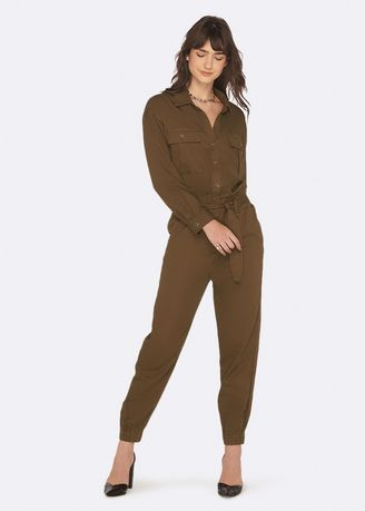 Jump Suits . OVS Earth Day Playsuit With Lyocell Blend Belt -