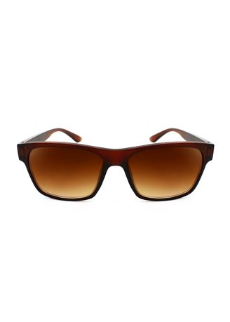 Brown color Sunglasses . Digisoria Willow Gale Fad Classic Matte Brown Wayfarer Sunglasses -