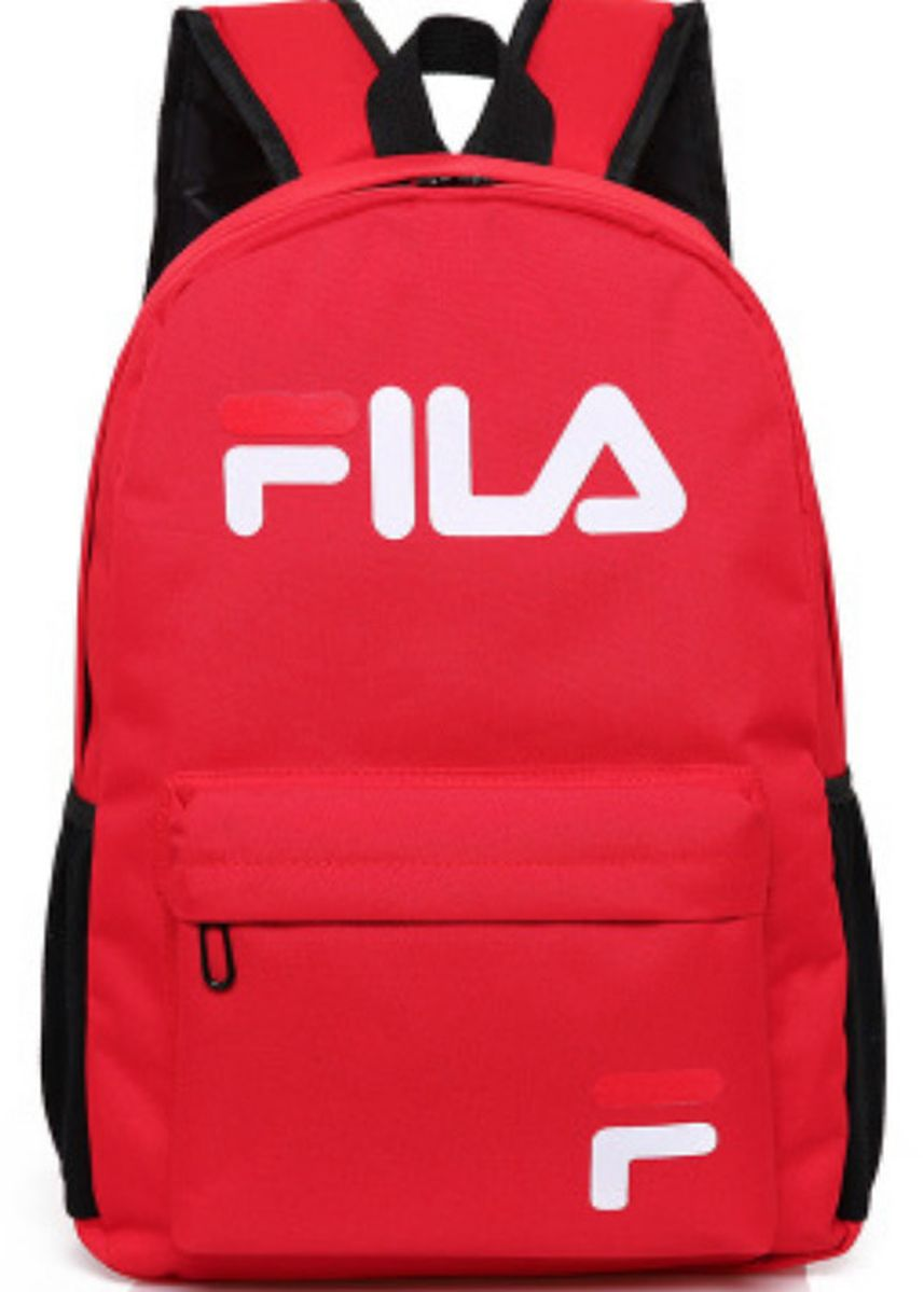 Red color Backpacks . Fila Bag -