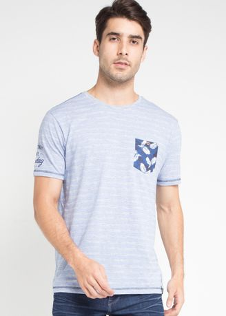 Blue color T-Shirts and Polos . X8 Darion T-Shirts -