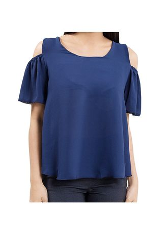 Tops and Tunics . Timeless Manila Lifestyle Demeter Georgette Blouse -