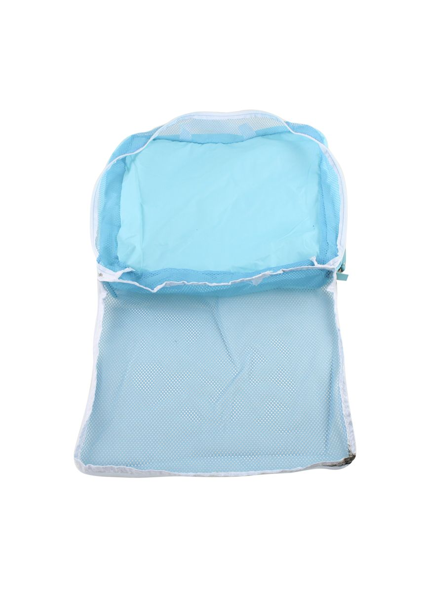 Blue color Storage . Travel Manila 3 in 1 Packing Cubes Pouch Bag -