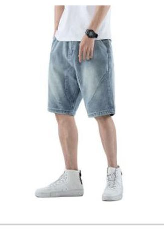 Shorts & 3/4ths . Hip Hop Loose Denim Shorts -