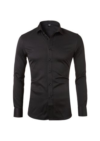 Black color Casual Shirts . Dignified Formal  Shirt -
