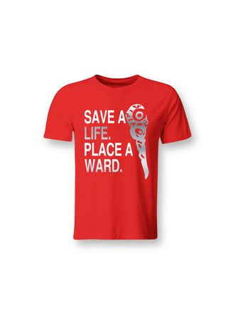 Red color T-Shirts and Polos . Guitar Apparel DOTA 2 Ward Printed T-Shirt -