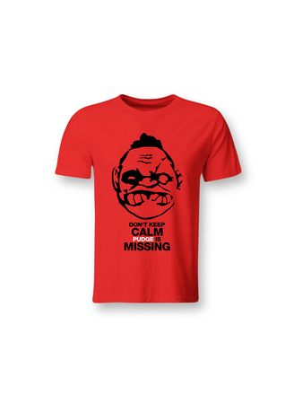 Red color T-Shirts and Polos . Guitar Apparel DOTA 2 Pudge Printed T-Shirt -
