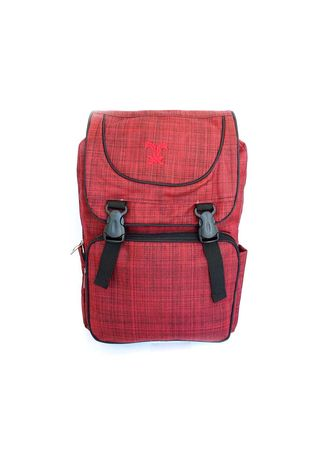 Red color Messenger Bags . Idolabags - Tas Ransel Cowok Casual Tragger  -