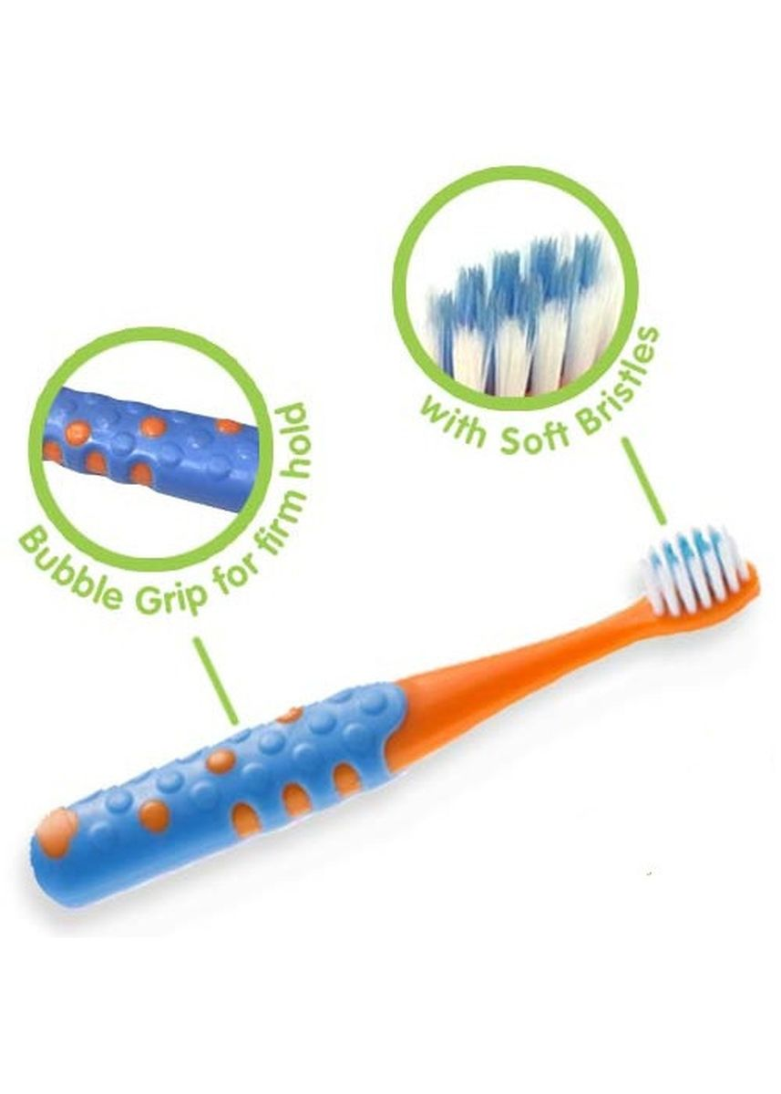 Orange color Others . Tiny Buds Baby Kiddie Toothbrush For 3 Years+ -