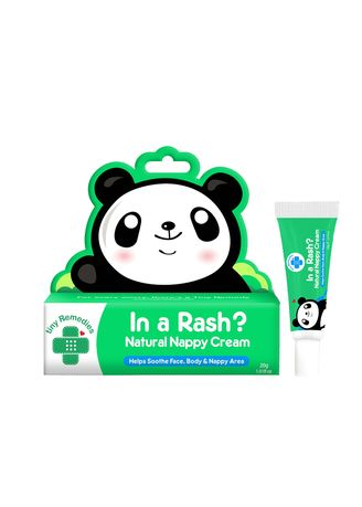 No Color color Body Cream & Oil . Tiny Buds Baby In A Rash Natural Nappy Cream, 30g -