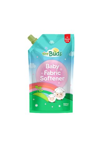 Cyan color Others . Tiny Buds Natural Baby Fabric Softener, 500ml -