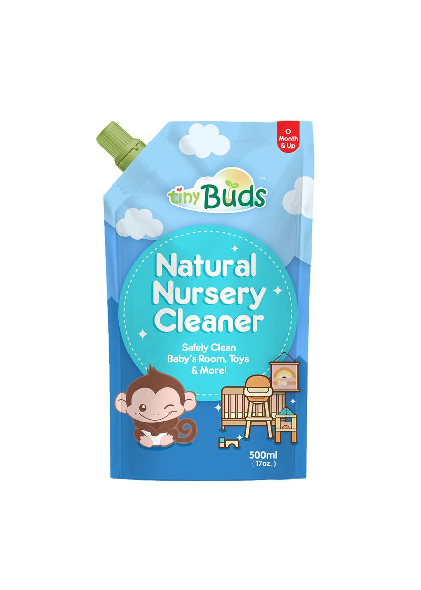 Blue color Others . Tiny Buds Baby Natural Nursery Cleaner Refill, 500ml -