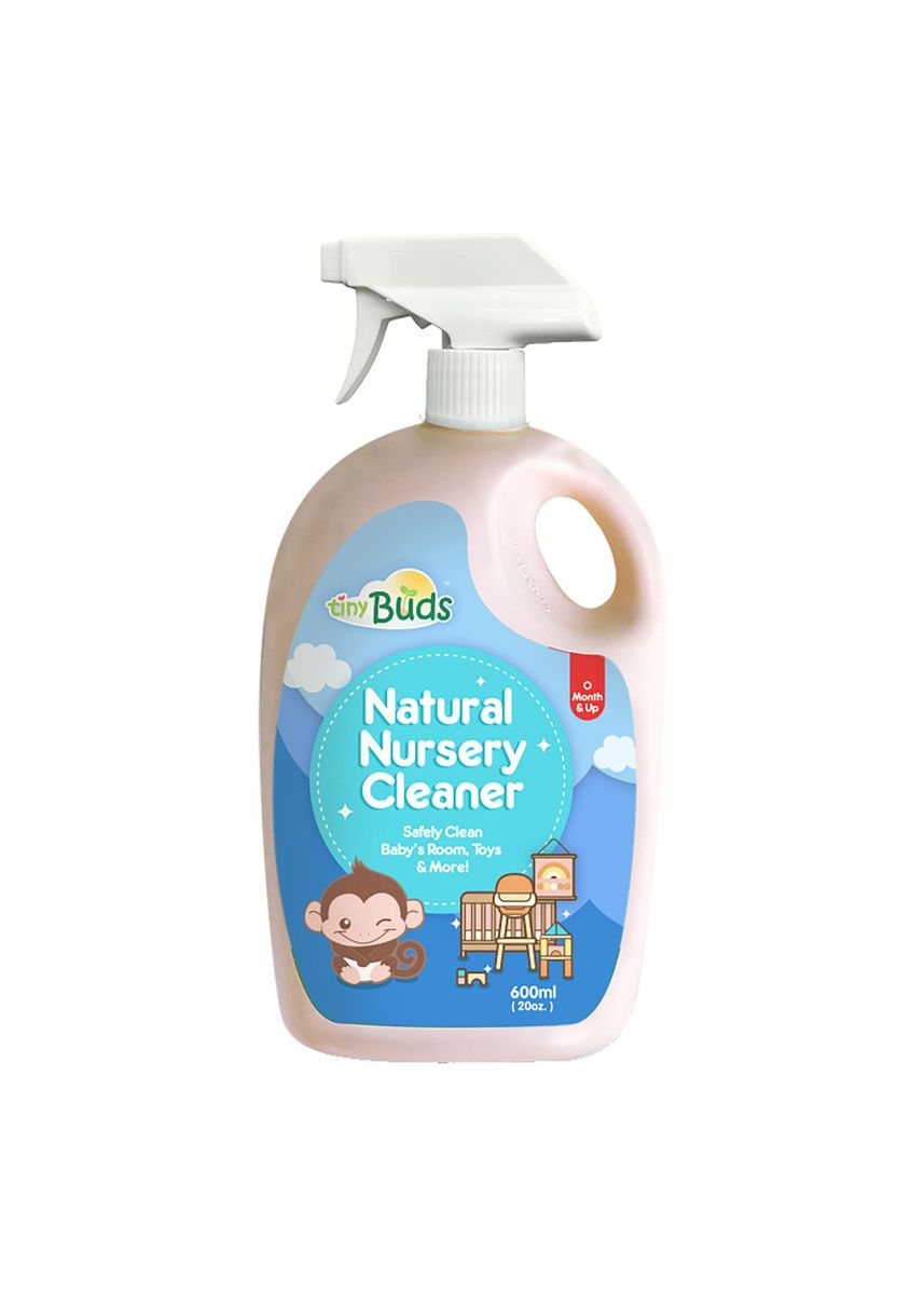 Blue color Others . Tiny Buds Baby Natural Nursery Cleaner, 600ml -