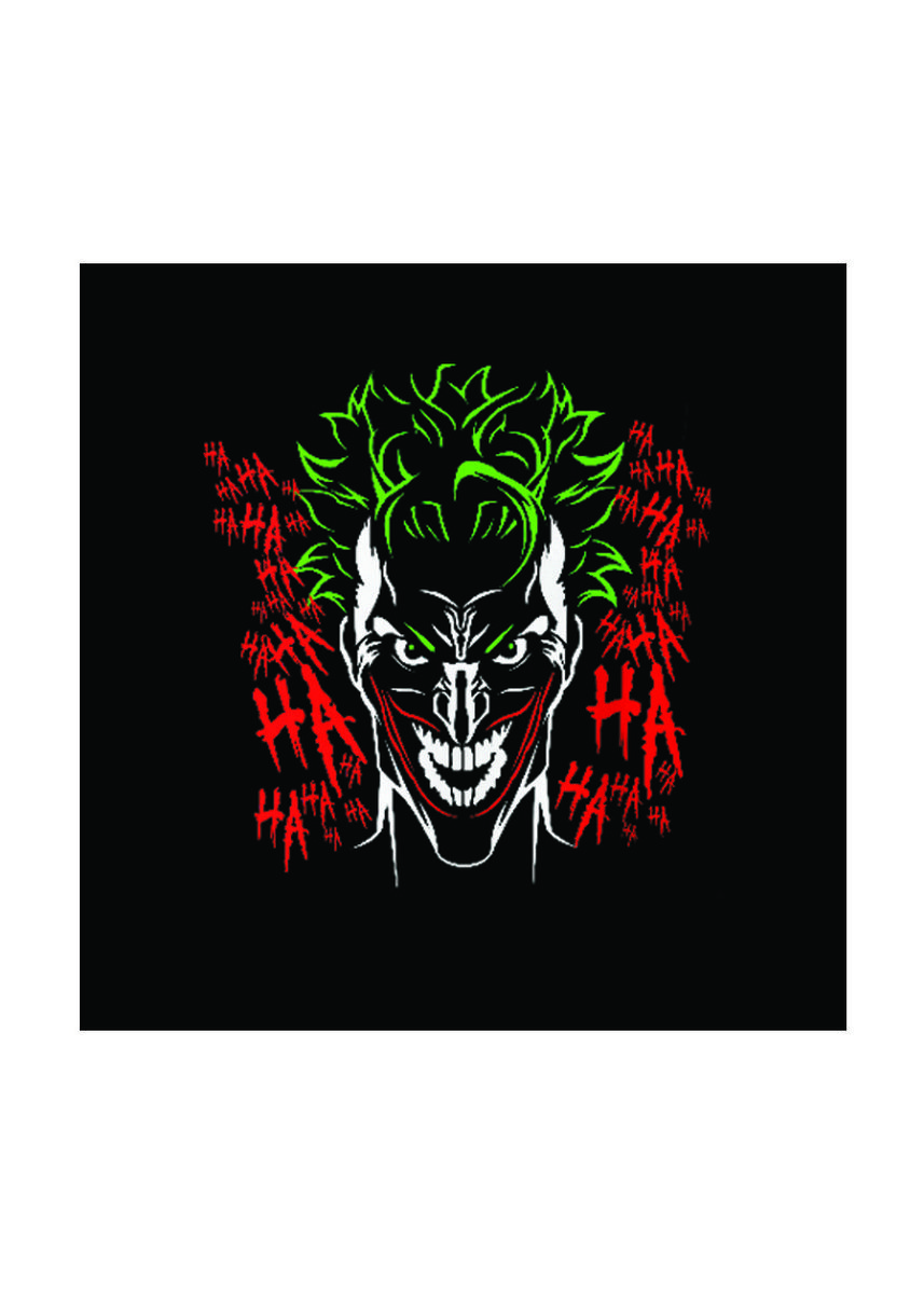 Black color T-Shirts and Polos . Guitar Apparel Suicide Squad Joker Printed T-Shirt -