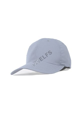 Light Grey color Hats and Caps . ELFS Topi Baseball Unisex Twill Polos Warna -