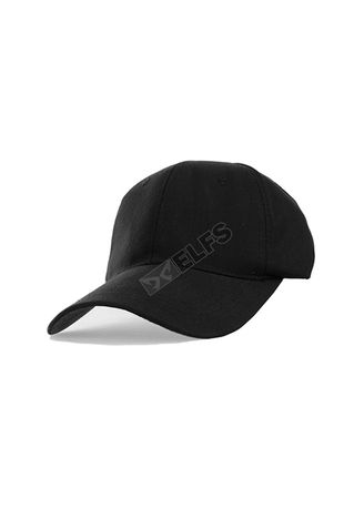 Black color Hats and Caps . ELFS Topi Baseball Unisex Canvas Swiding Polos -