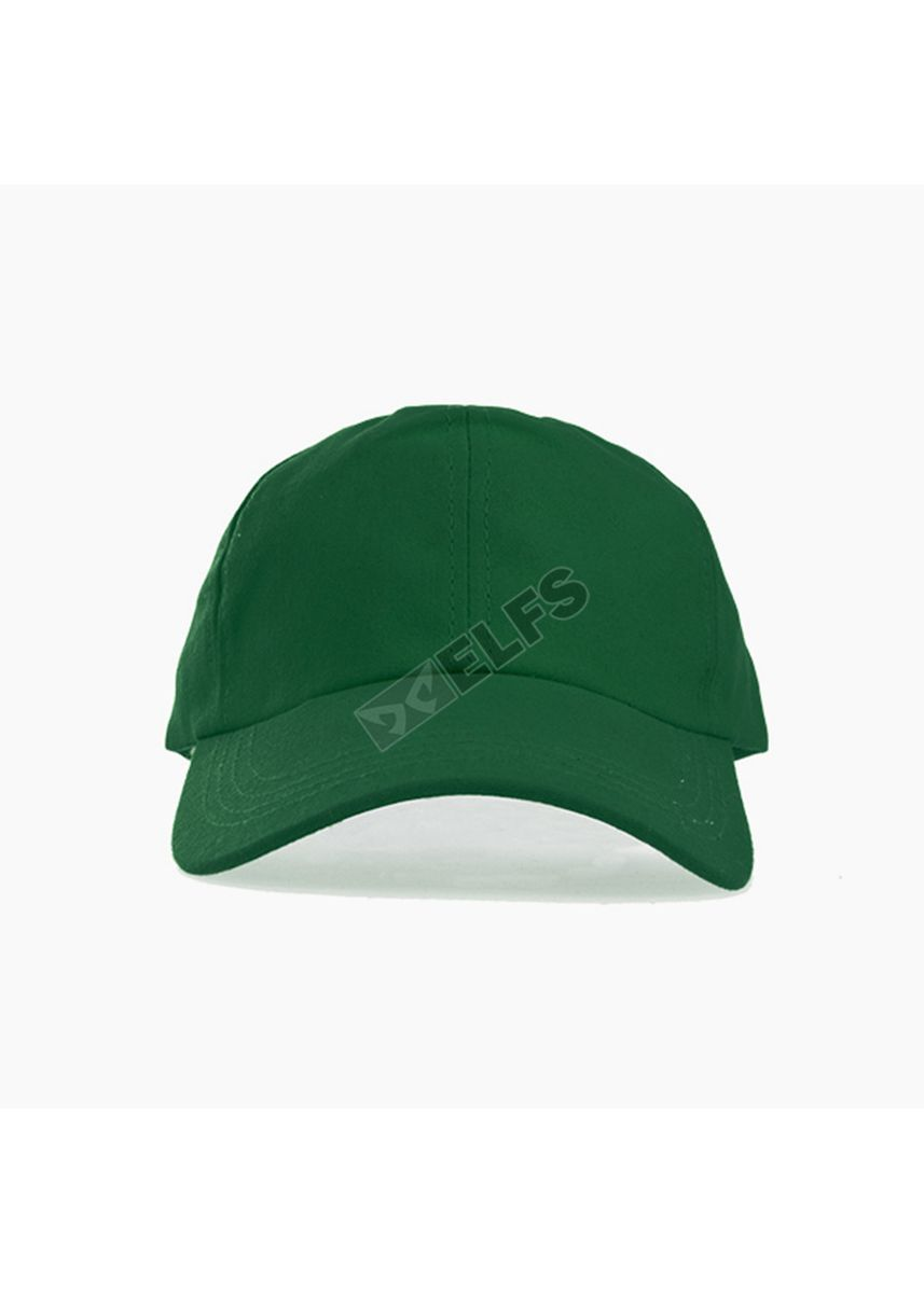 Green color Hats and Caps . ELFS Topi Baseball Unisex Canvas Swiding Polos -