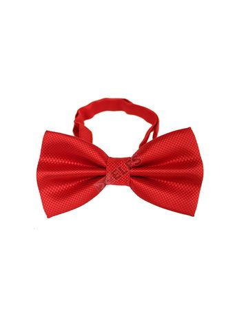 Red color Ties . ELFS Dasi Kupu Kupu Tekstur With Box -