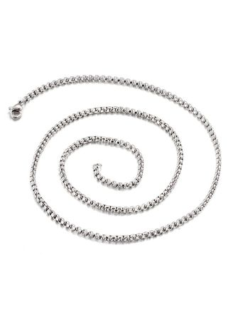 Necklaces . Wild Fashion Stainless Steel Clavicle Chain -