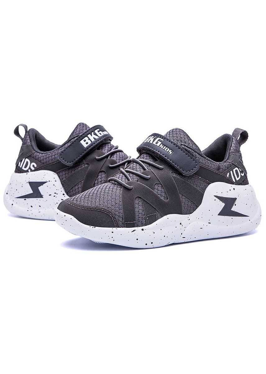 Grey color Footwear . Breathable And Comfortable Children's Sports Shoes -