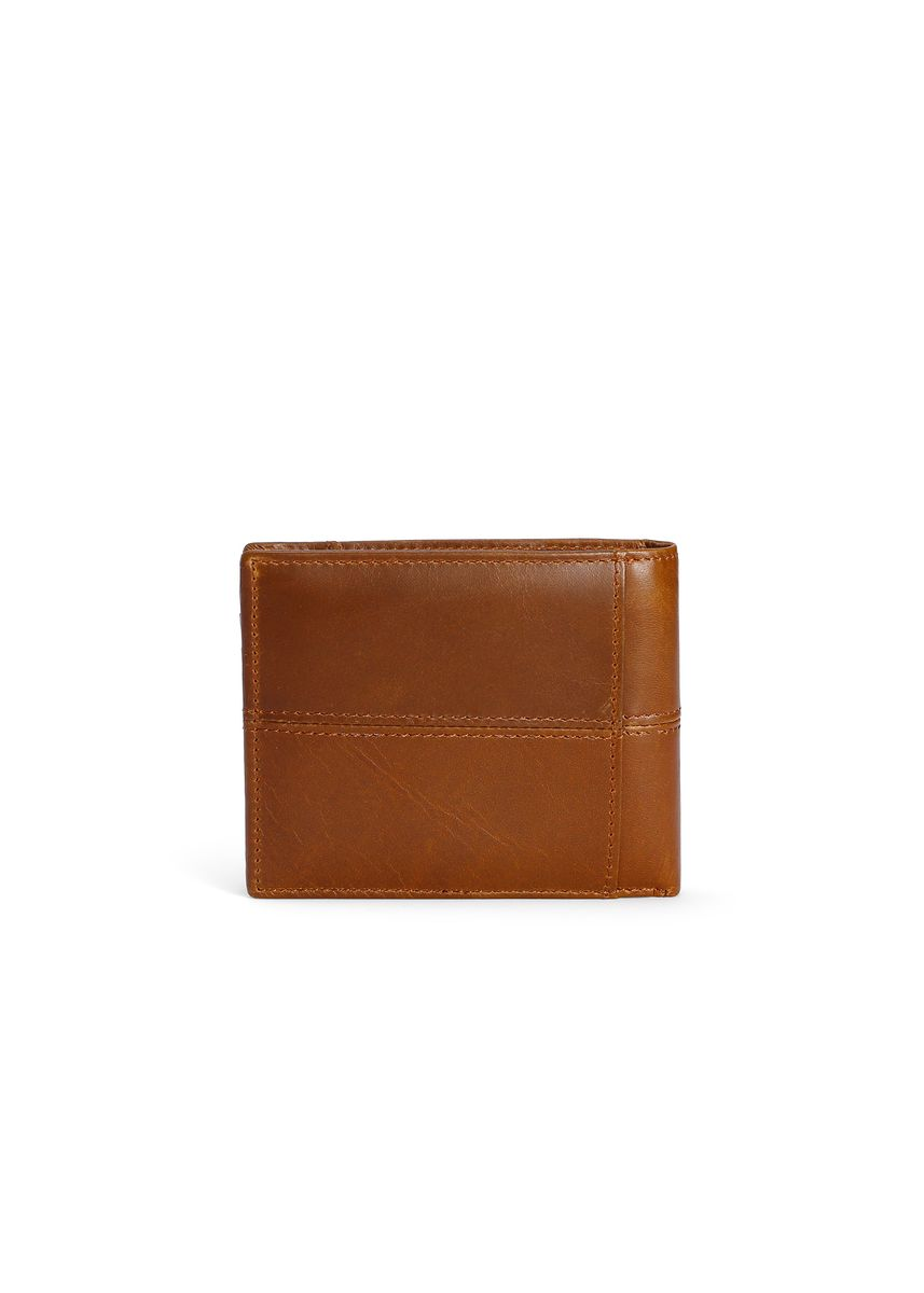 Yellow color Wallets . Cowhide Wax Wallet -