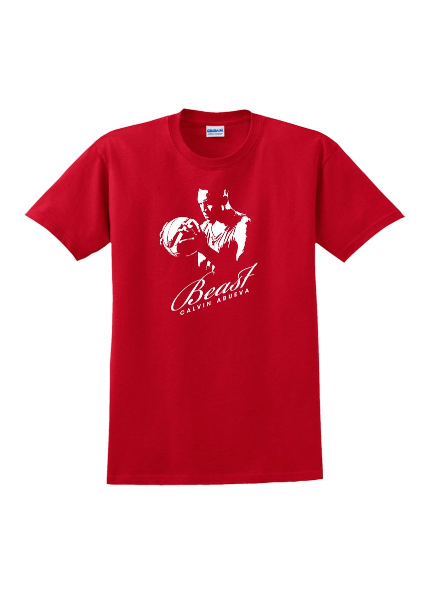 Red color T-Shirts and Polos . AC Prints Unisex Printed T-Shirt -