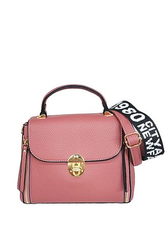 Hand Bags . Catriona Colenne top handle bag - PINK -