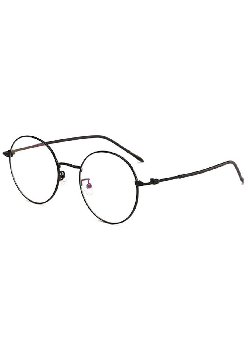 ดำ color กรอบ . Retro Metal Large Flat Frame -