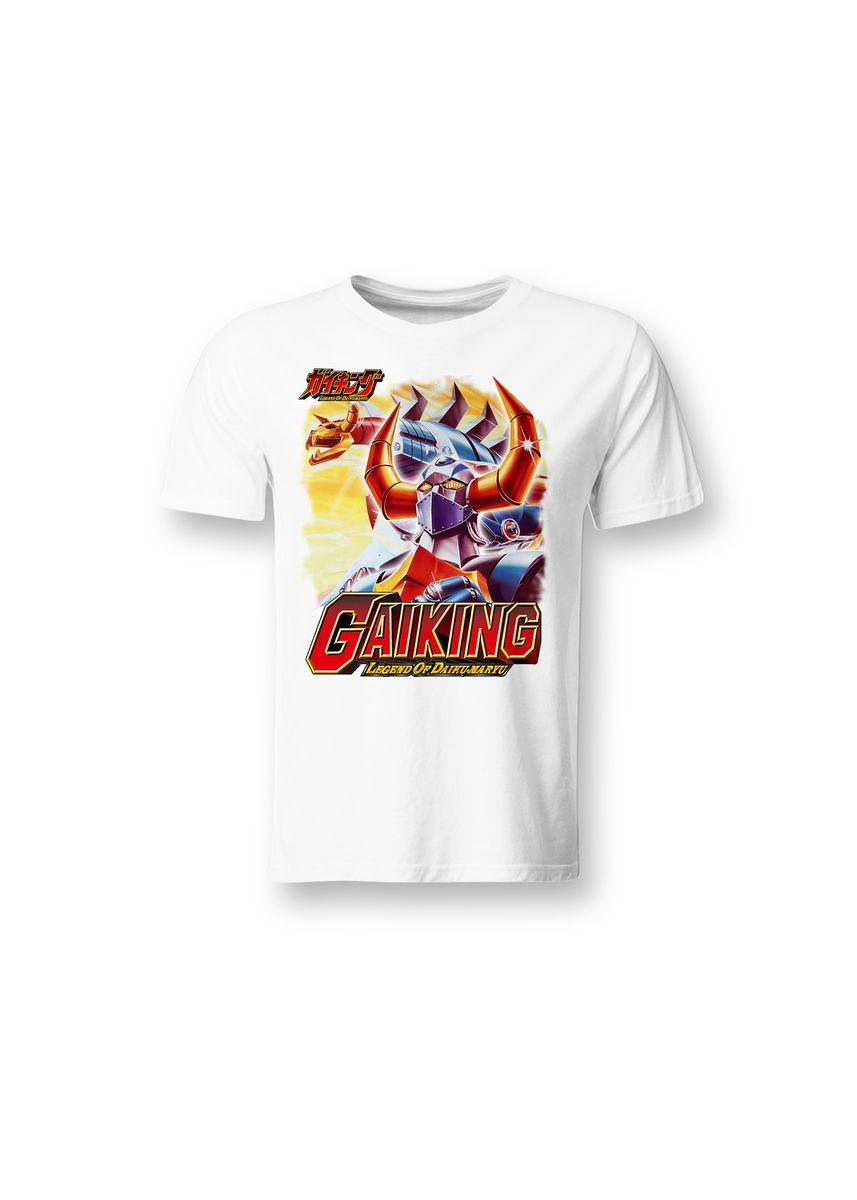 White color T-Shirts and Polos . Guitar Apparel Gaiking Round Neck T-shirt -