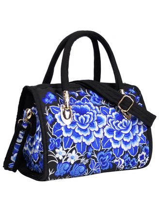 Multi color Hand Bags . Ethnic Style Popular Embroidery Handbag -