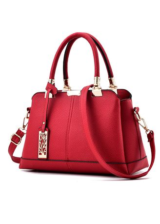 Red color Hand Bags . Women Style Fashion Sweet Hand Bag -
