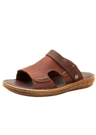 Brown color Sandals and Slippers . Casual Two Men's Shoes -