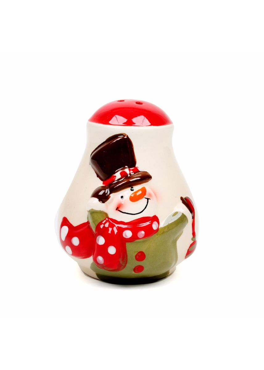 Multi color Home Decor . Wallmark Merry & Bright Collectible Salt & Pepper Canister, Set of 2 -