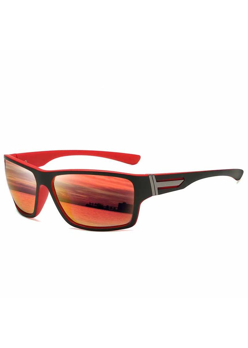 Red color Sunglasses . HD Polarized Cycling Glasses -