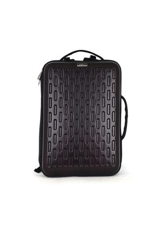 แดง color เป้สะพายหลัง . Men's Business 15.6-inch Shoulder Hard Shell Computer Bag -