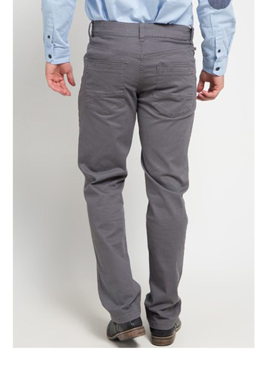 Abu-Abu color Celana Panjang Kasual . Emba Classic Mozes One Men's Pants in Mid Grey -