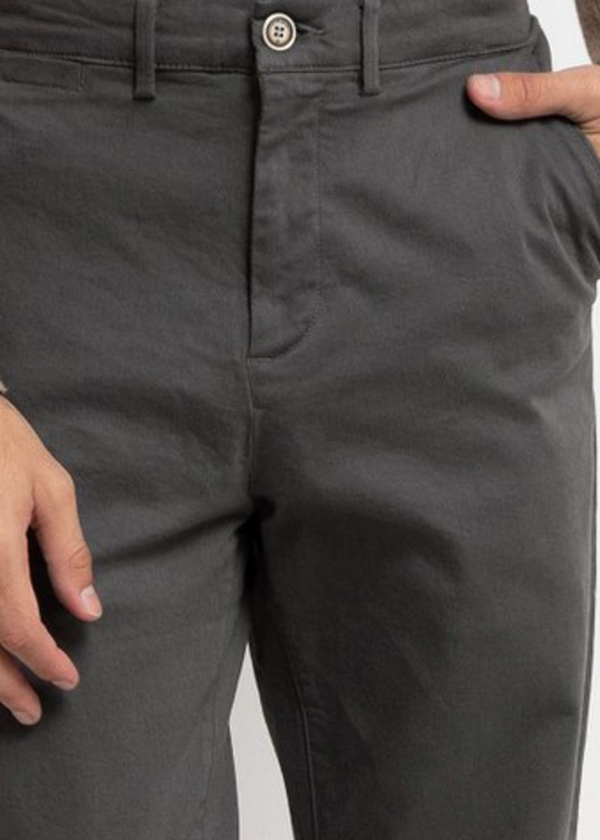 Abu-Abu color Celana Panjang Kasual . Emba Classic Arion One Men's Pants in Dark Grey -