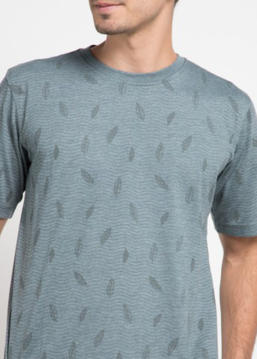 Hijau color Kaus Oblong & Polo . Emba Classic Jaasir T-shirt in Green -