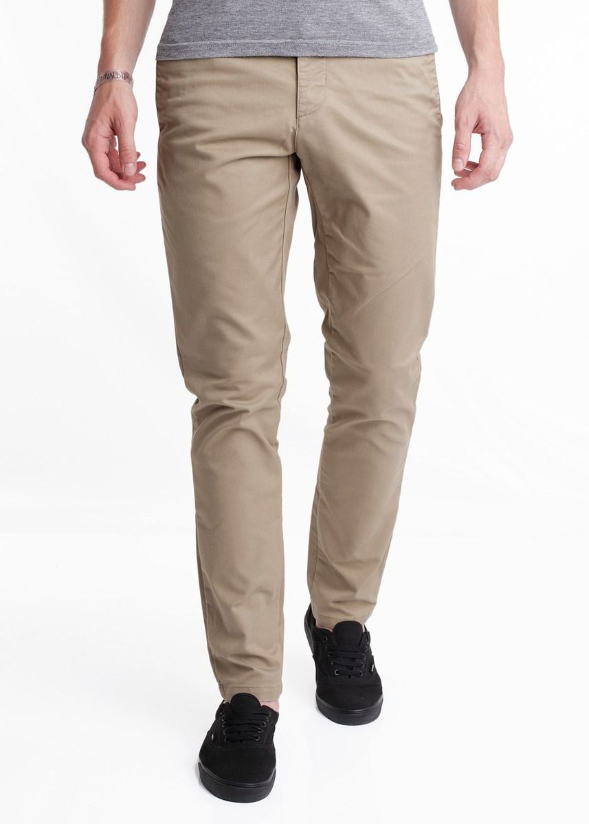 Beige color Formal Trousers . Celana Panjang formal pria Terbaru CP0 -