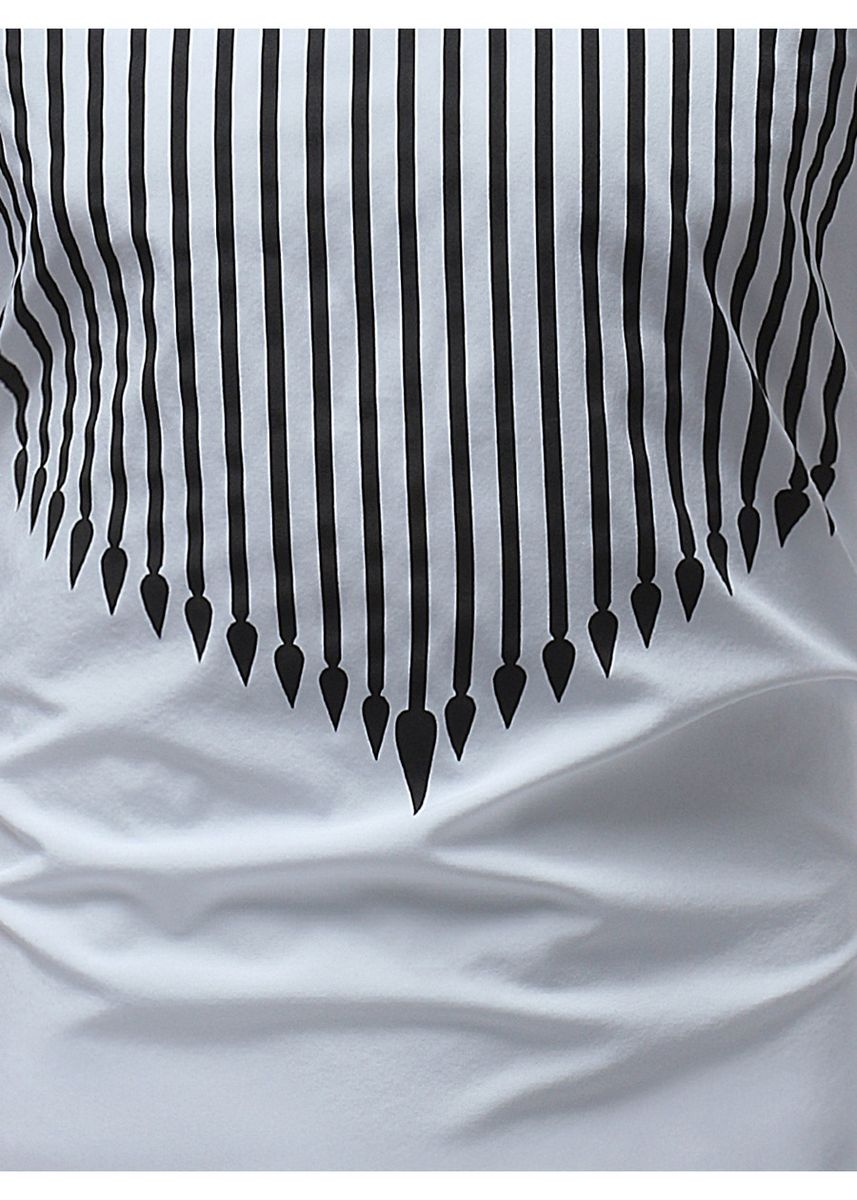 White color T-Shirts and Polos . Beach  lapel  short sleeve shirt -