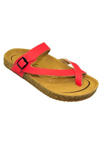 Sandals and Slippers . Carvil Sandal Casual Ladies Khanza 06 Red -