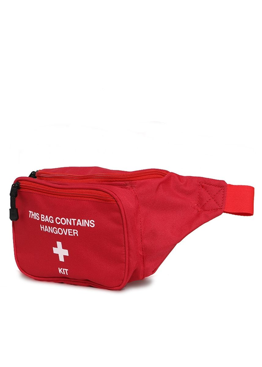 Red color Messenger Bags . Tendencies HANGOVER WAISTBAG RED -