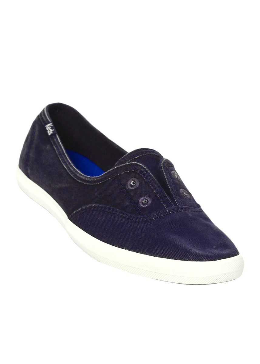 Navy color Casual Shoes . Keds Chillax Mini Seasonal Solid Sneakers -